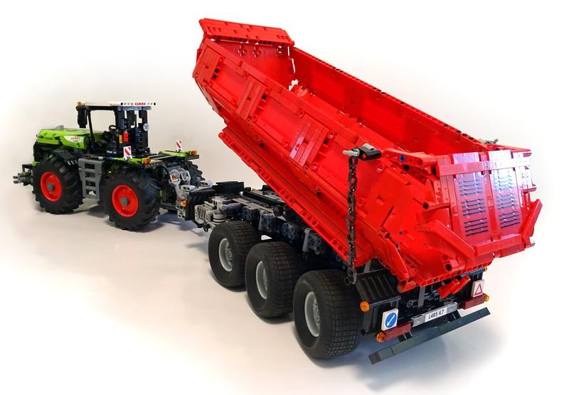 Lego Technic Krampe HP30 Trailer