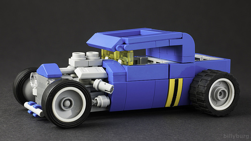Lego Classic Space Hot Rod