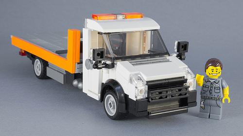 Lego Volkswagen Crafter Tow Truck