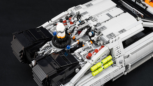 Lego Back to the Future Part II DeLorean time machine