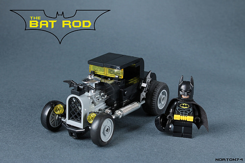 Lego Bat Man Hot Rod