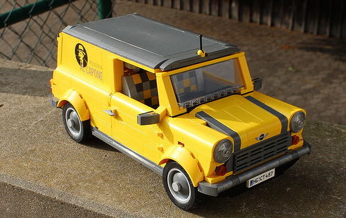 Lego Mini Clubman