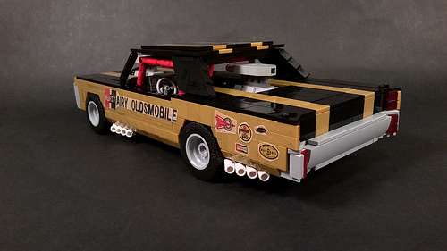 "Lego Hurst ""Hairy"" Oldsmobile"