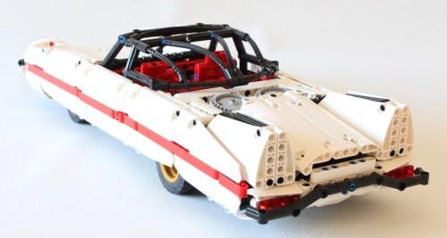 Lego Technic Retrofuturistic Nuclear Car