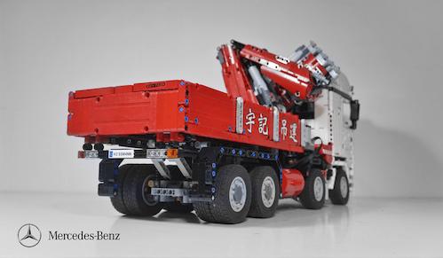 Lego Technic Remote Control Mercedes-Benz Crane Truck