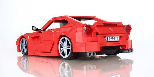 Lego Ferrari 599