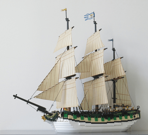 Lego Galleon