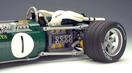 Lego BRM H16 Engine