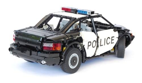 Lego Technic Police Car