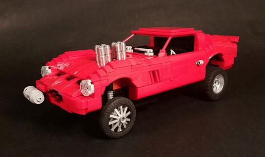 Lego Ferrari 250 GTO Gasser