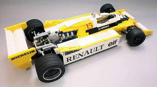 Lego Renault RS10 Formula 1 Car RoscoPC