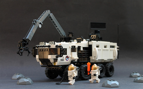 Lego Space 8x8 Truck