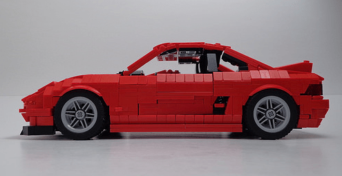 Lego Toyota MR2