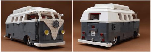 Lego Volkswagen Split Screen Camper