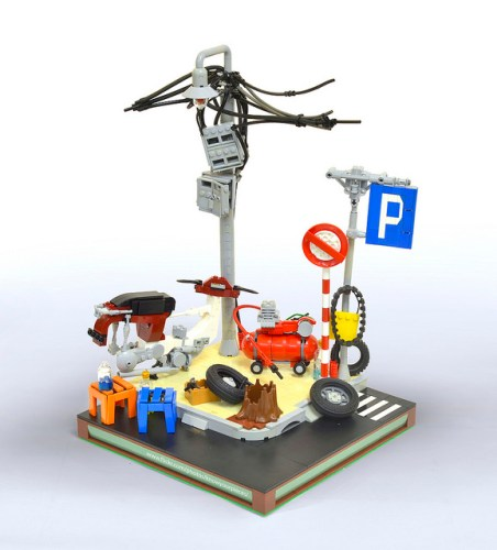 Lego Saigon Street Corner