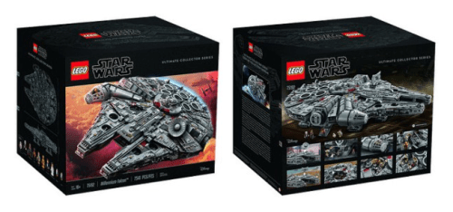 75192 Millennium Falcon Biggest Lego Set Ever