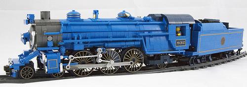 Lego Blue Comet Locomotive