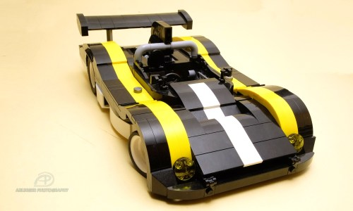 Lego 1970s Endurance Racer
