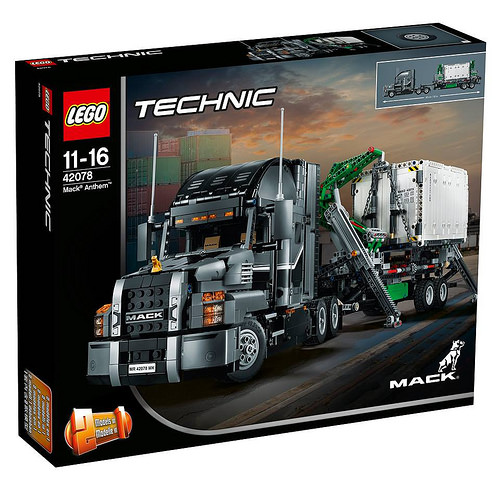 Lego Technic 42078 Mack Anthem Review