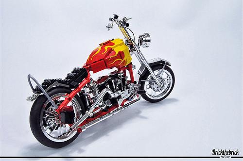 Lego Easy Rider Motorbike Harley Davidson FLH