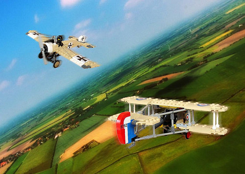 Lego Great War Dogfight, Fokker Vs Airco