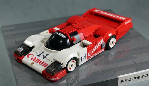 Lego Porsche 956 Cannon