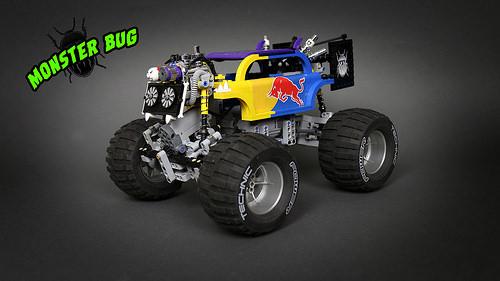 Lego Monster Bug 4x4 Crawler