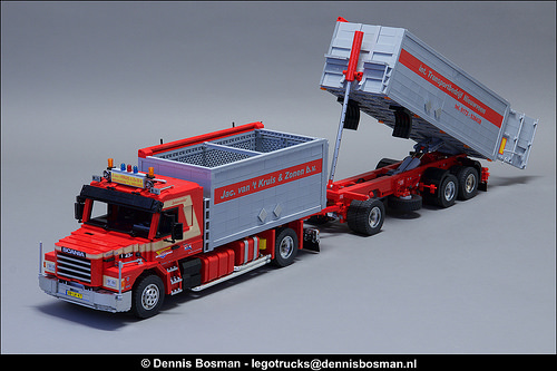 Lego Scania T143H Bulk Carrier