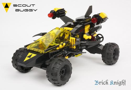 Lego Blacktron Buggy