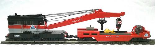 Lego Bangor & Aroostook Crane