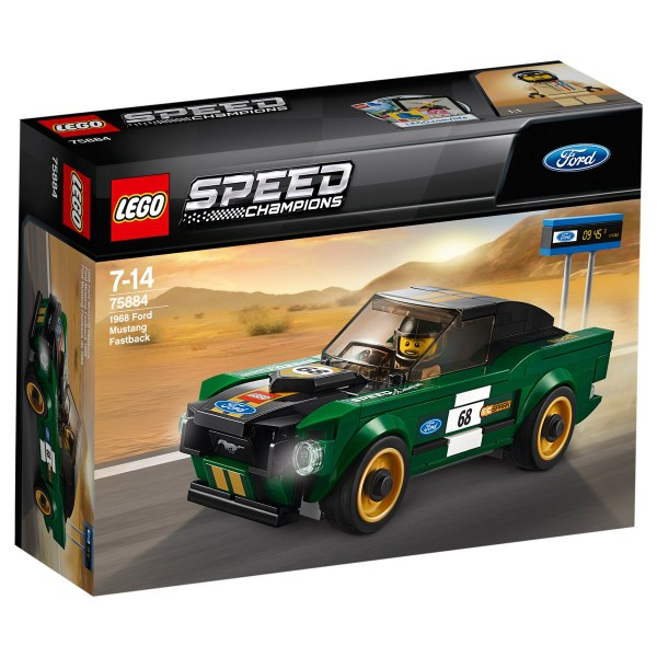 Lego 75884 Speed Champions 1968 Ford Mustang Fastback