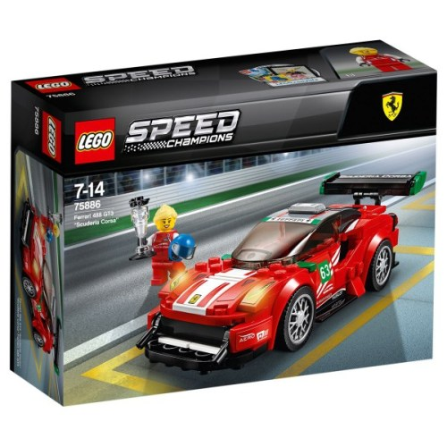 "Lego 75886 Speed Champions Ferrari 488 GT3 ""Ferrari Corsa"""