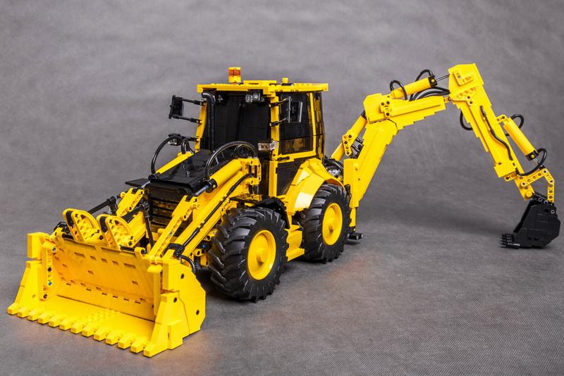 Lego CAT 434E Remote Control Backhoe
