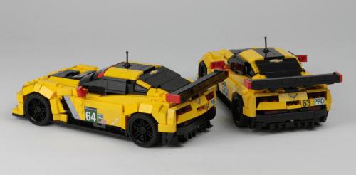 Lego Chevrolet Corvette C7.R Le Mans