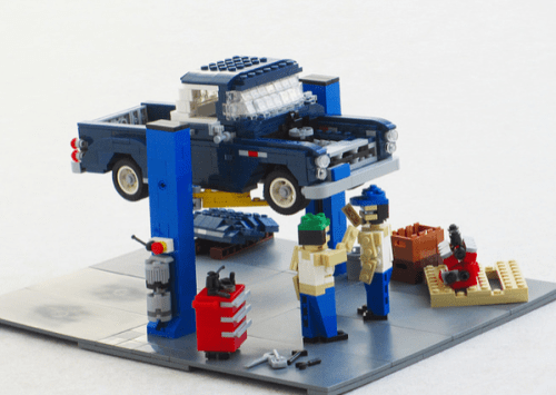 Lego Chevrolet Stepside Pick-Up Workshop