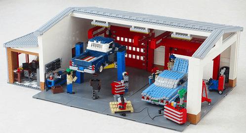 Lego Classic Car Garage