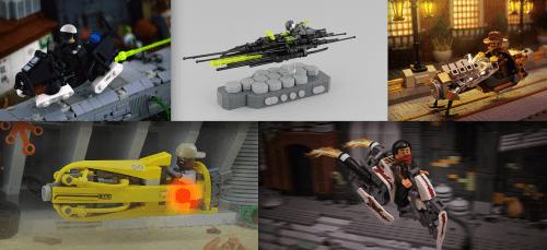Lego Speeder Bikes