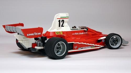 Lego Ferrari 312T Niki Lauda