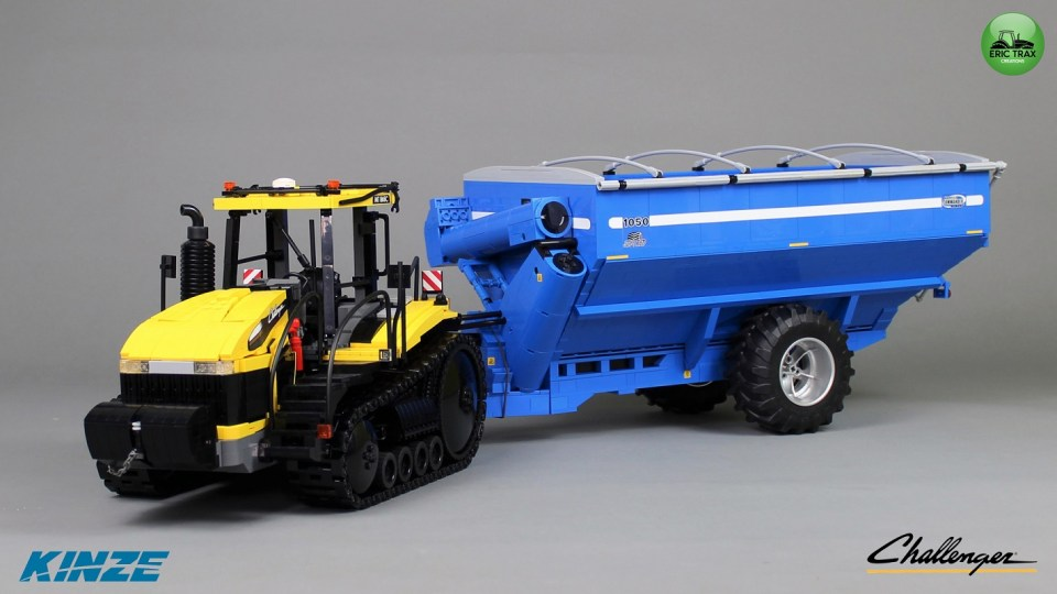 Lego Challenger MT-865 Tractor