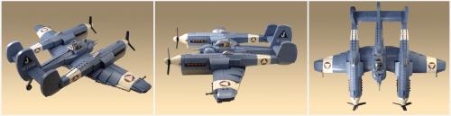 Lego Sky-Fi P98 Nemesis