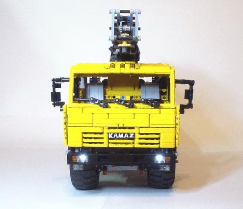 Lego Technic KAMAZ 43118 Timber Truck RC