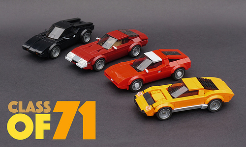 Lego Speed Champions Seventies Supercars