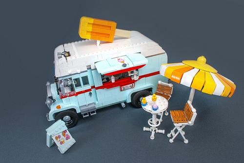 Lego Classic Ice Cream Van