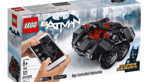 Lego 76112 App Controlled Batmobile