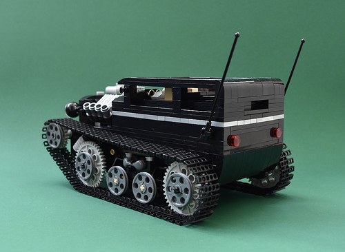 Lego Tracked Hot Rod