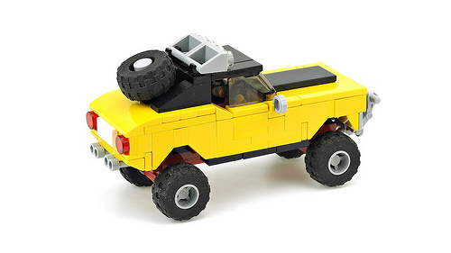 Lego Off-Road Muscle Car