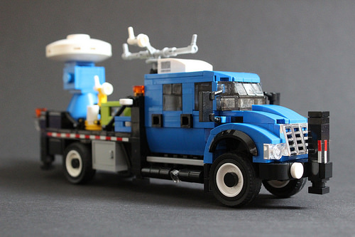 Lego International Workstar 7500 DOW Truck