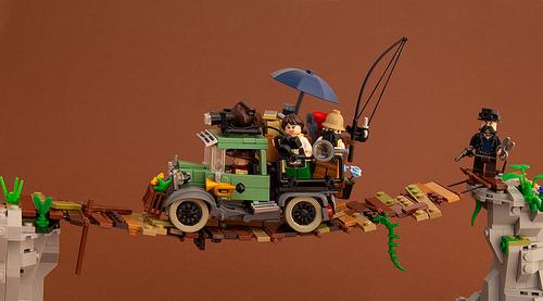 Lego Rope Bridge