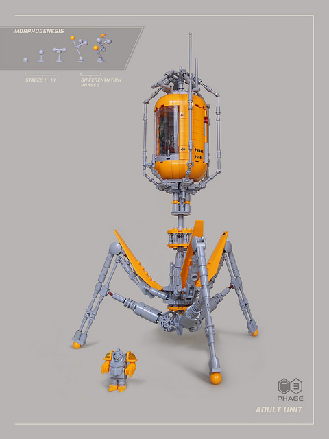 Lego Phage Spaceship
