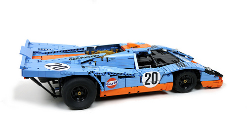 Lego Porsche 917K Gulf Racing